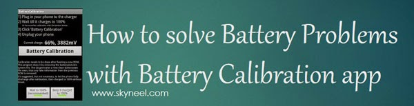 Battery-Calibration-app