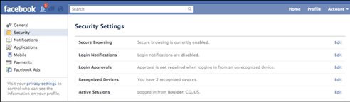 Facebook-account-security