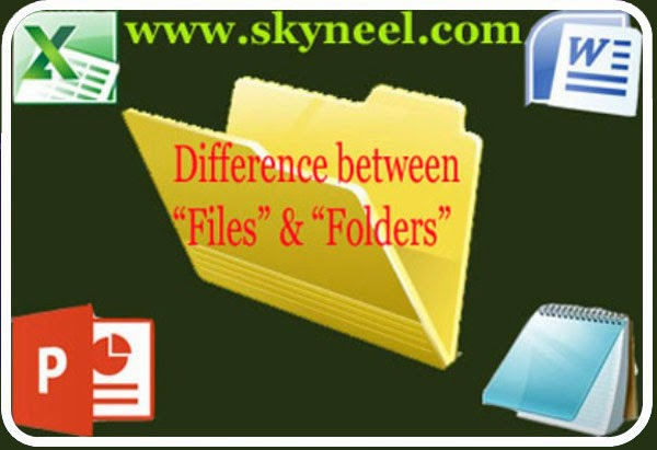 Difference-between-Files-&-Folders