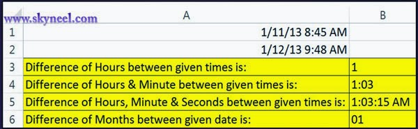 Difference-between-two-given-times-in-MS-Excel
