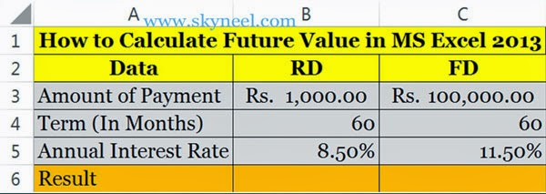 How-to-calculate-Future-Value-in-Excel-2013