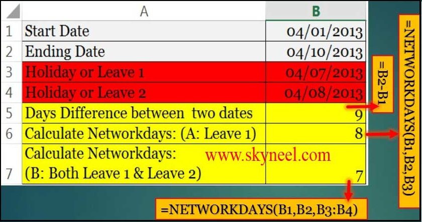 count-working-days-between-two-dates