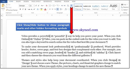 How-to-Creating-an-Index-Entry--in-MS-Word