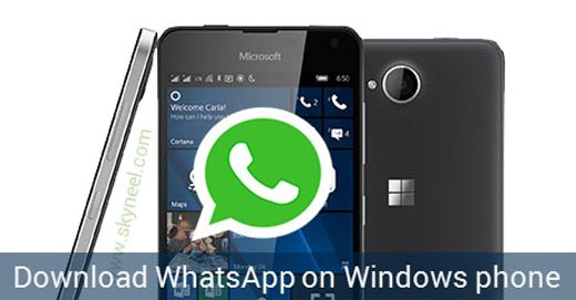 How to download WhatsApp on windows phone