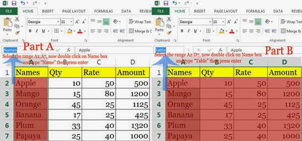 Naming-the-range-Data-Validation-VLOOKUP