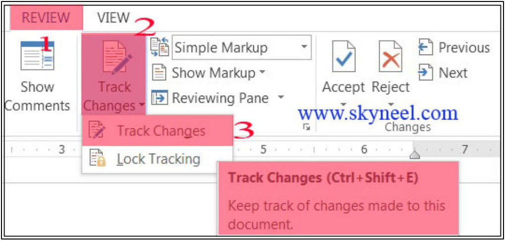 How-to-use-Track-Change-Command-in-MS-Word