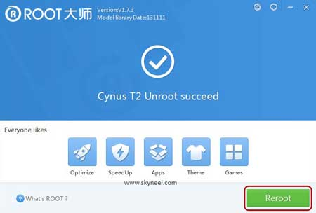 Unrooted-successful