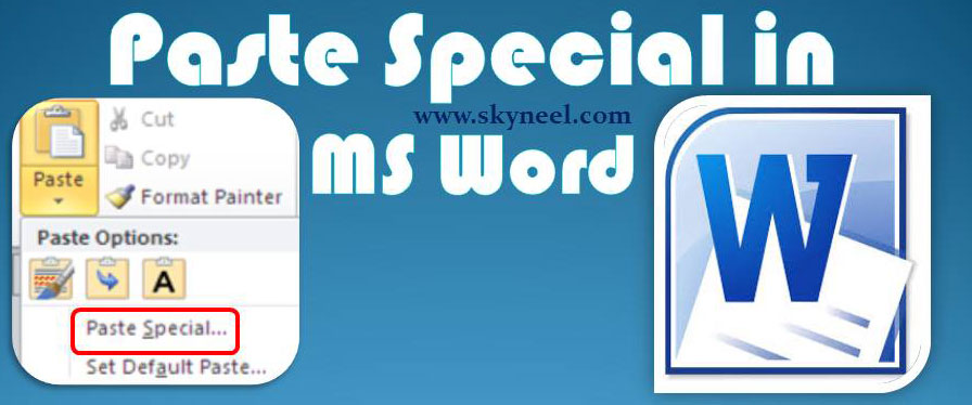 Paste-Special-in-MS-Word