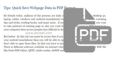 Quick-Save-Web-Page-in-PDF