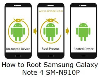 How to root Samsung Galaxy Note 4 SM N910P