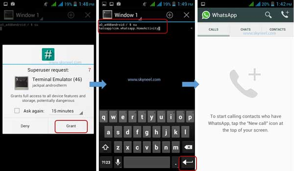 calling feature in Whatsapp