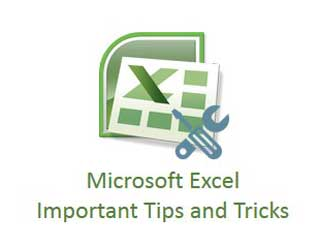Microsoft Excel Important Tips and Tricks