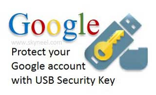 Google-account-with-USB-Security-Key