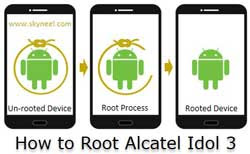 How to root Alcatel Idol 3 without PC