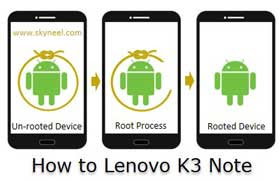 Root-Lenovo-K3-Note