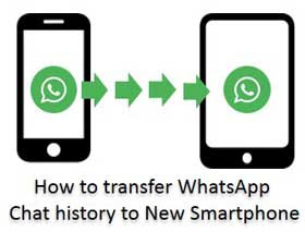 transfer WhatsApp Chat history to New Smartphone
