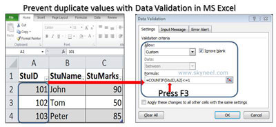 prevent- duplicate- values-with-data- validation-in-ms-excel
