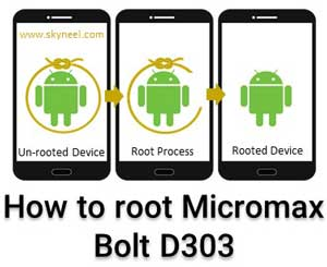 How to root Micromax Bolt D303 without PC