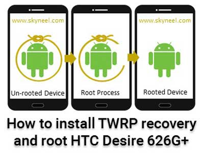 How to root HTC Desire 626G+ and install TWRP recovery
