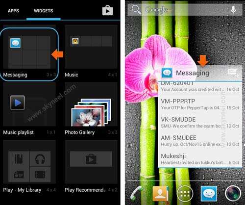 Create-messaging-shortcut-on-Android-phone