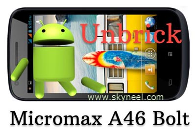 unbrick-Micromax-A46-Bolt-with-stock-Rom-V1