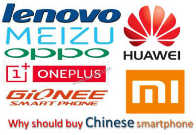 Why should buy chinese smartphone