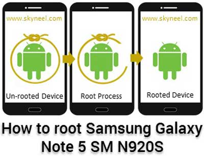 How to root Samsung Galaxy Note 5 SM N920S