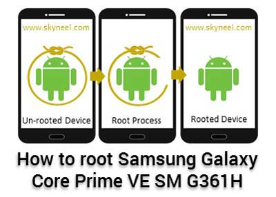 Root Samsung Galaxy Core Prime VE SM G361H