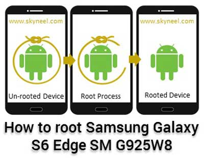 How to root Samsung Galaxy S6 Edge SM G925W8