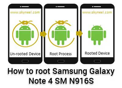 Root Samsung Galaxy Note 4 SM N916S
