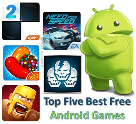 Top Five Best Free Android Games