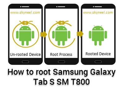 How to root Samsung Galaxy Tab S SM T800 10 5