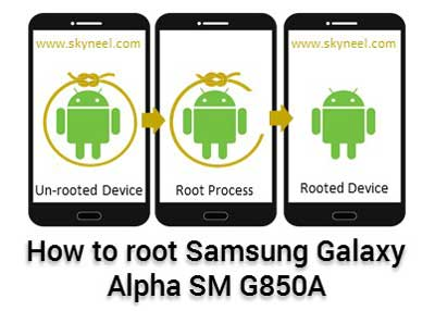 Root Samsung Galaxy Alpha SM G850A