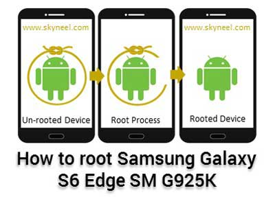 How to root Samsung Galaxy S6 Edge SM G925K