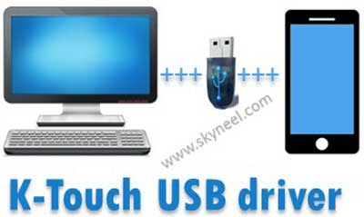 K-Touch USB driver