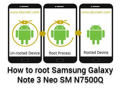 How to root Samsung Galaxy Note 3 Neo SM N7500Q