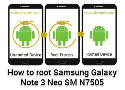 How to root Samsung Galaxy Note 3 Neo SM N7505