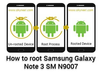 Root Samsung Galaxy Note 3 SM N9007