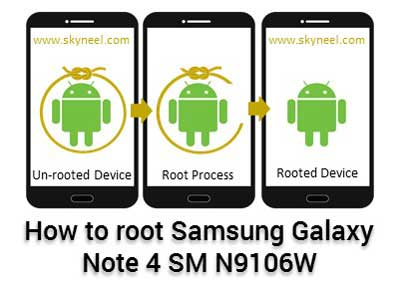 Root Samsung Galaxy Note 4 SM N9106W