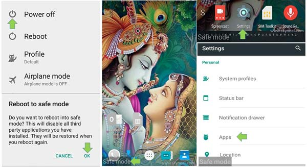 How to boot Android phone into safe mode