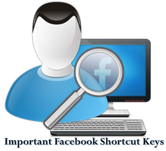 Important Facebook Shortcut Keys