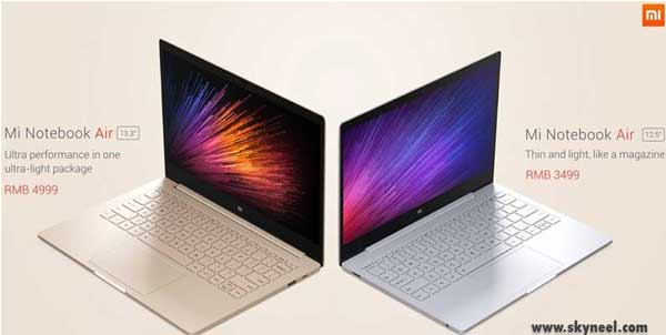 Xiaomi Mi NoteBook Air1
