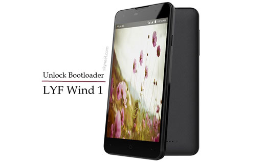 How to unlock bootloader LYF Wind 1