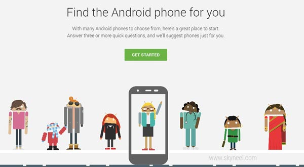 Google Will Helps You Find the Perfect Android Phone