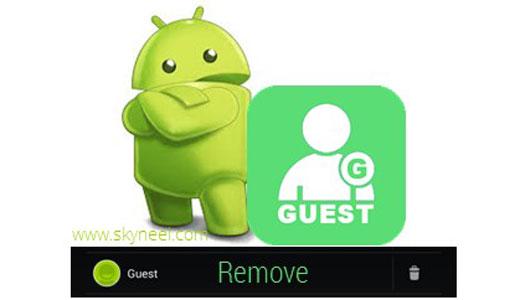 How to remove Guest account from Android phone