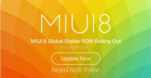 How to install Redmi Note Prime MIUI 8 Global stable Rom
