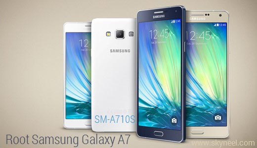 How to root Samsung Galaxy A7 SM A710S