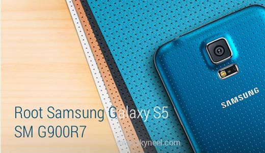 How to root Samsung Galaxy S5 SM G900R7
