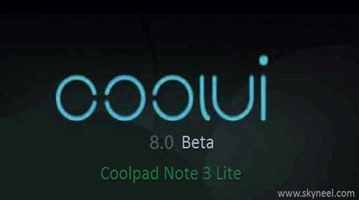 New Marshmallow update Coolpad Note 3 Lite Coolui 8 0 Beta ROM