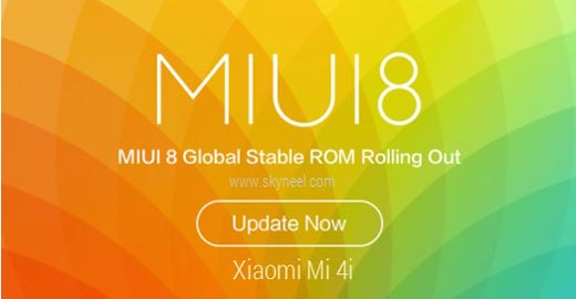 How to install Xiaomi Mi 4i MIUI 8 Global stable Rom